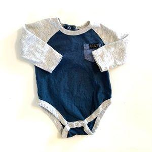 3/$25 7 for All Mankind Baby Boy Onesie